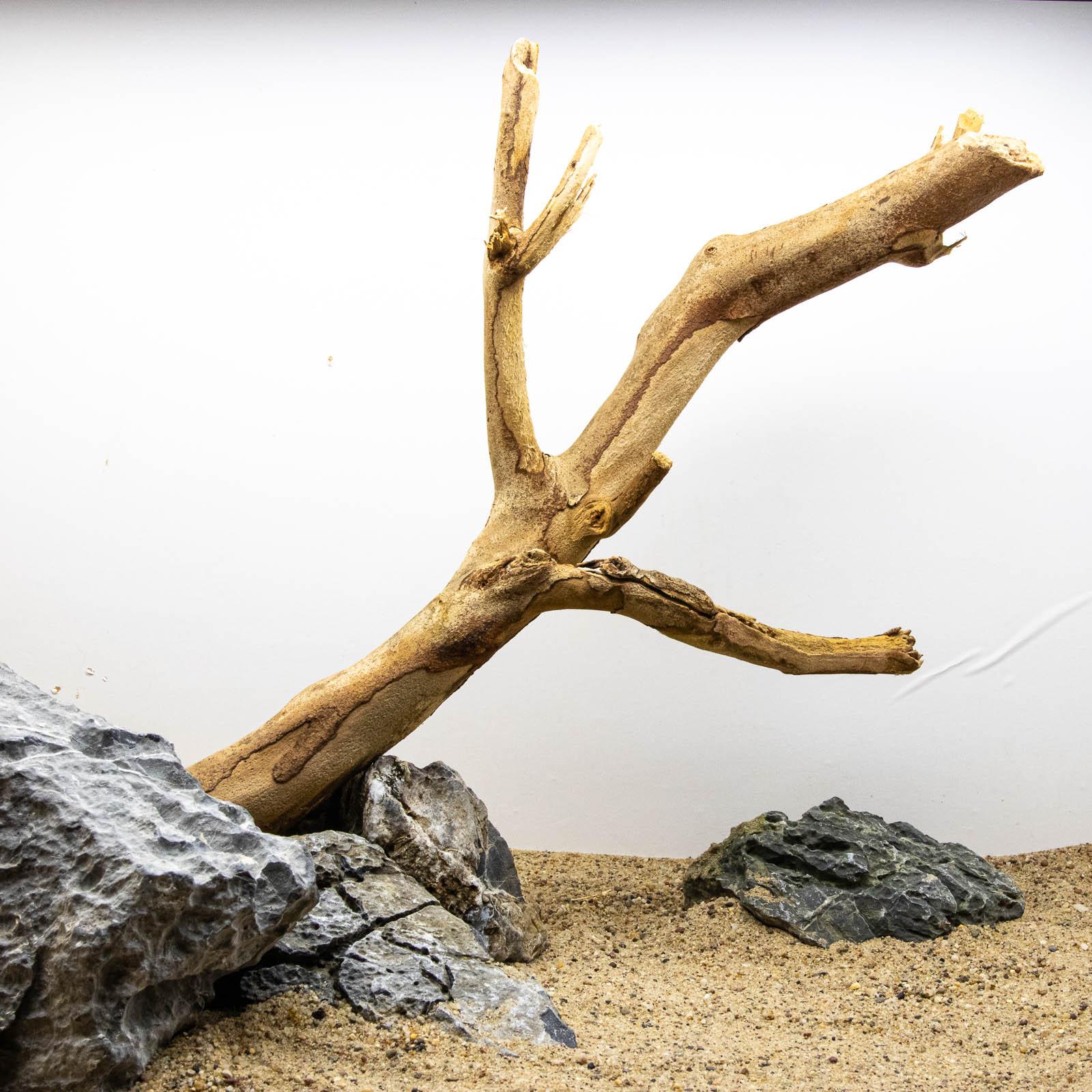 Talawa Holz mit Steinen beschwert