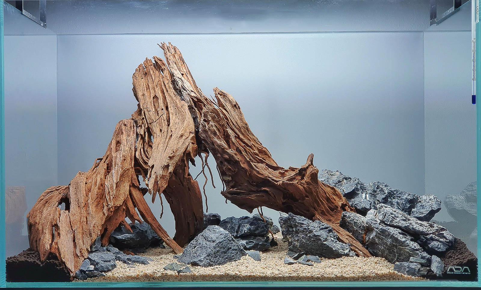 Yati Holz Hardscape für ein Afrika Style Aquarium